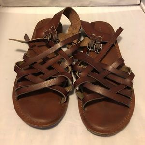 American Eagle gladiator style shoes 9